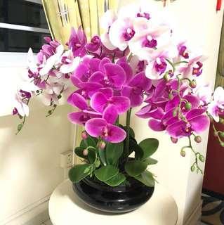 Artificial Flower Arrangement - Orchid Flower