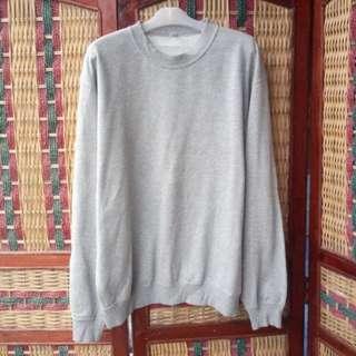 Sweater Oversize Crewneck Uniqlo Size XL not Hoodie Jaket