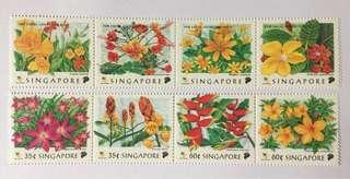 Singapore 1998 Flowers mnh