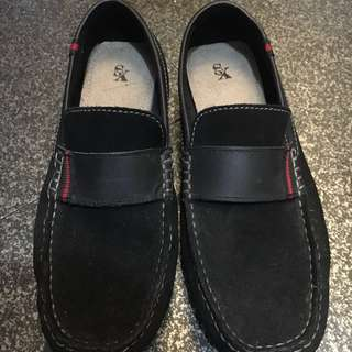 Black Suede Formal Shoes for Boys/Girls for SALE