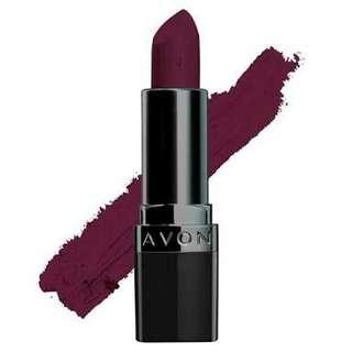AVON perfectly matte lipstick - Superb wine