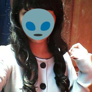 For rent! Daily wig semi human hair