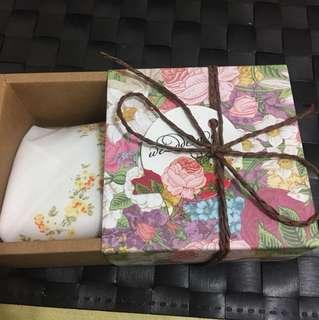 結婚禮物 手帕 小禮物 gift girl Zara towel