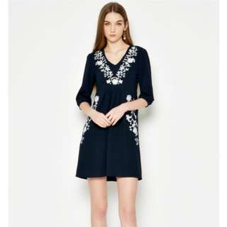 Love and Bravery Embroidered Dress
