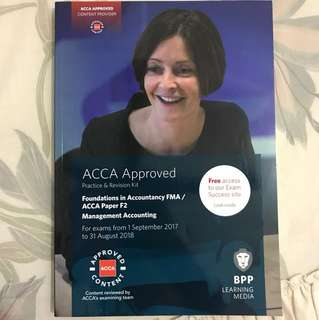 ACCA F2 Management Accounting Practise & Revision kit