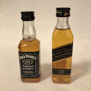 Whisky 2支