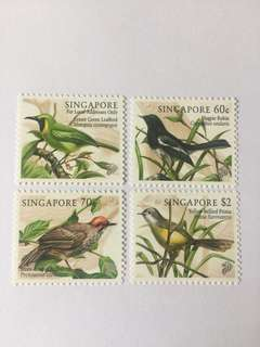Singapore 1988 songbirds mnh