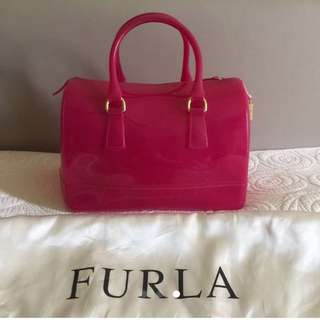 FURLA Candy bag 靚色 九成新 保證正貨 100% authentic  not LV chanel Hermes Gucci Mui Mui prada coach