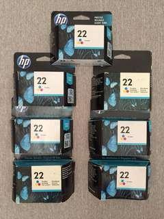 HP ink 22