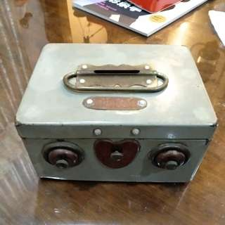 Vintage saving box
