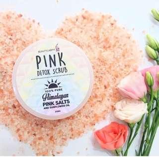 Himalayan Pink salt body wax
