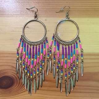 Accessorize 民族風耳環 earrings
