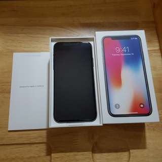全新iPhone X 256 GB