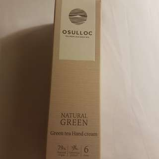 Osulloc Green Tea Hand Cream