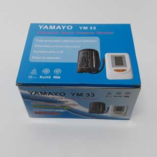 YAMAYO Automatic Blood Pressure Monitor