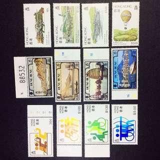 香港郵票 3套