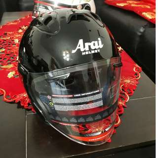ARAI Motorcycle helmet open face face visor  XL SIZE