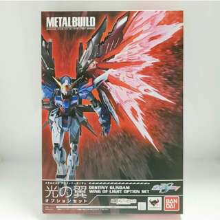 Metal Build Destiny Gundam Wing Effect only.