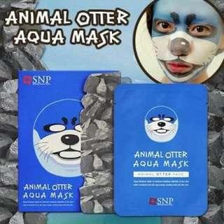 Masker Animal SNP Order Aqua Mask