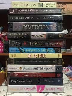 PRELOVED BOOKS FOR SALE! (See Description)