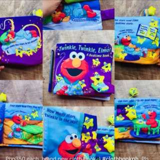 Clothbook elmo