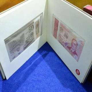 SG50 NOTE SET