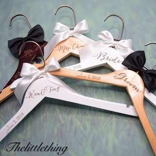 Hand made hanger