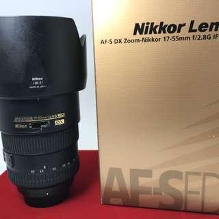 Nikon 17-55mm F2.8G DX