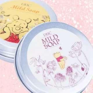 日本DHC Winnie the Pooh 小熊維尼 蜂蜜橄欖潔面face wash cream