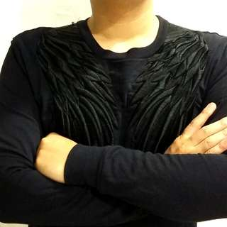 Sweater ZARA MAN high quality BORDIR angel wing
