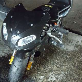 全新二衝程50cc 電單車(不可上路出牌,只限私人地方)
