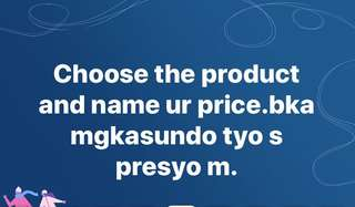 Choose and name ur price and lets deal