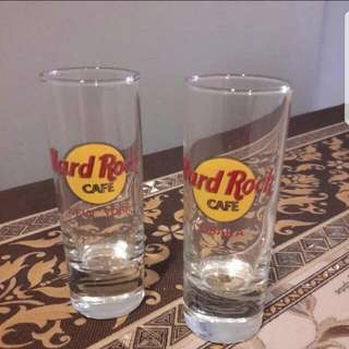 Hard Rock Short Glasses  ( Display Set )