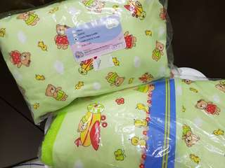Sweet Cherry Baby's pillow & blanket