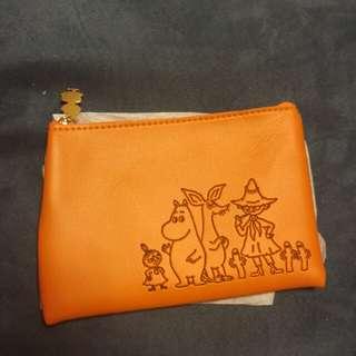 姆明一族橙色袋