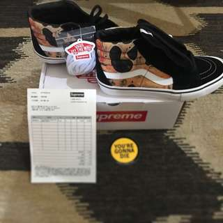 VANS SK8 HI SUPREME BLOOD AND SEMEN ANDRES SERRANO