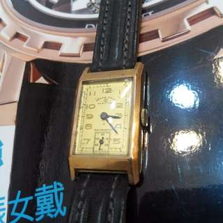 1940 Election Grand Prix Vintage/Antique Gold Watch