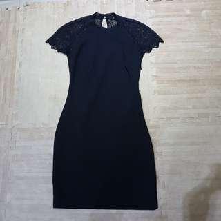 Sale zara black dress