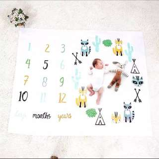 Jerry Mat for Baby milestones and dates