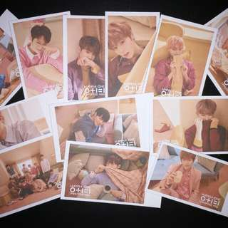 WANNA ONE FANMADE POLAROID