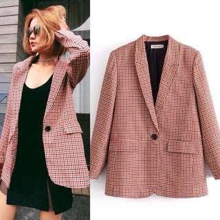 European and American style retro British style Slim lapel suit wild coat