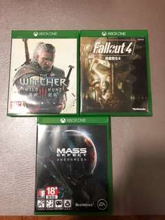 The Witcher 3 / Mass Effect: Andromeda / Fallout 4