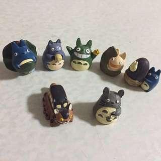 龍貓擺設 (7隻)