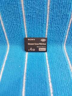 Sony 4gb memory stick