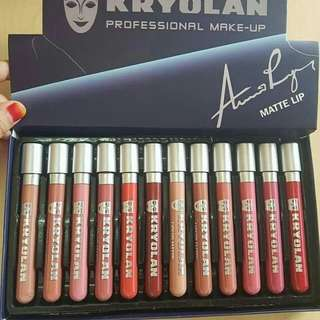 KROYOLAN Liquid Matte Lipstick (12pcs)