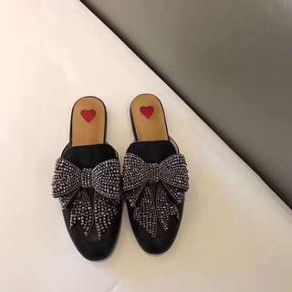 [GUCCI] Princetown leather slipper 皮革拖鞋