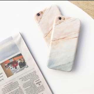 PO marble matte phone case