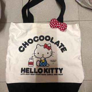 Chocoolate x Hello Kitty Tote Bag