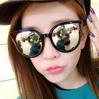 Sunglass Fashion Women Sunglasses Cat Eye Shades Luxury Brand Designer Sun glasses Integrated Eyewear Candy Color UV400 JH15949