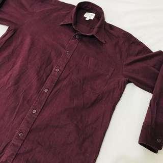 Cabela's Dark Red Shirt